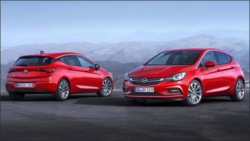 Opel predstavio novu Astru za 2016. godinu