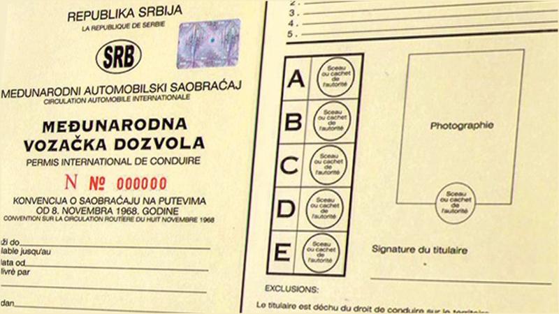 Međunarodna vozačka dozvola